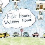 Poster contest image fair housing welcome home